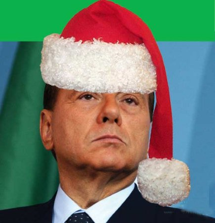 Silvio Papi Natale Berlusconi