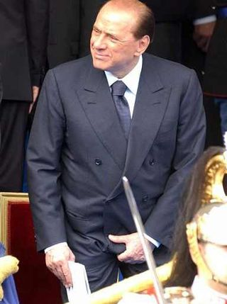 Berlusconi jella